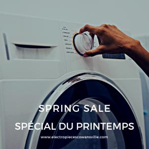Speciaux de Printemps/Spring Savings